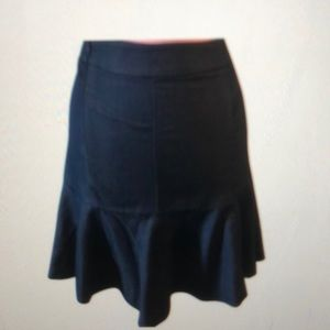 NWT a line skirt